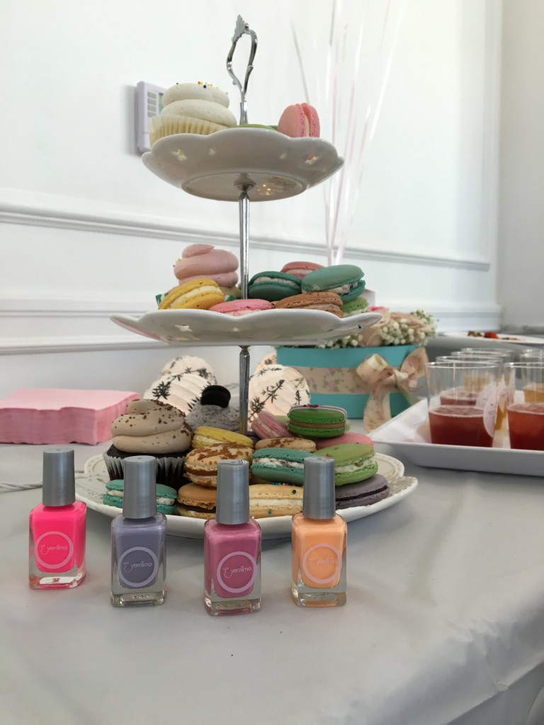 Macarons and Nail Polish