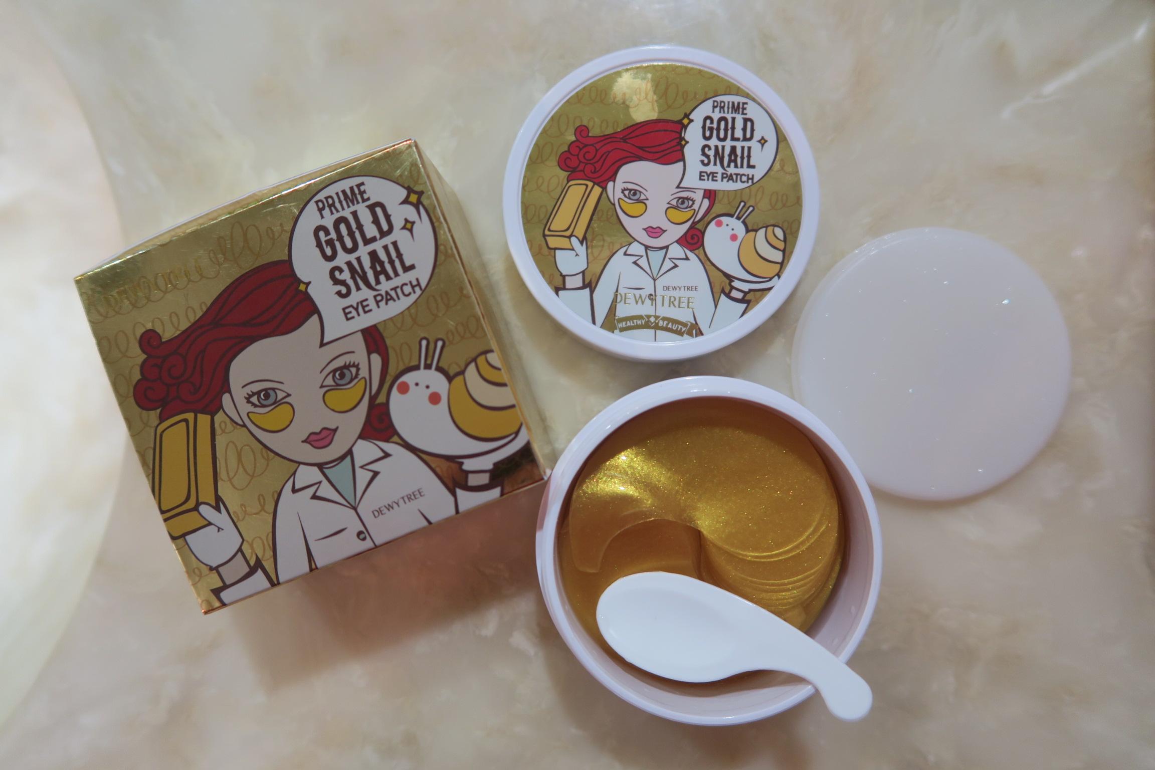 Gold Snail Eye Mask