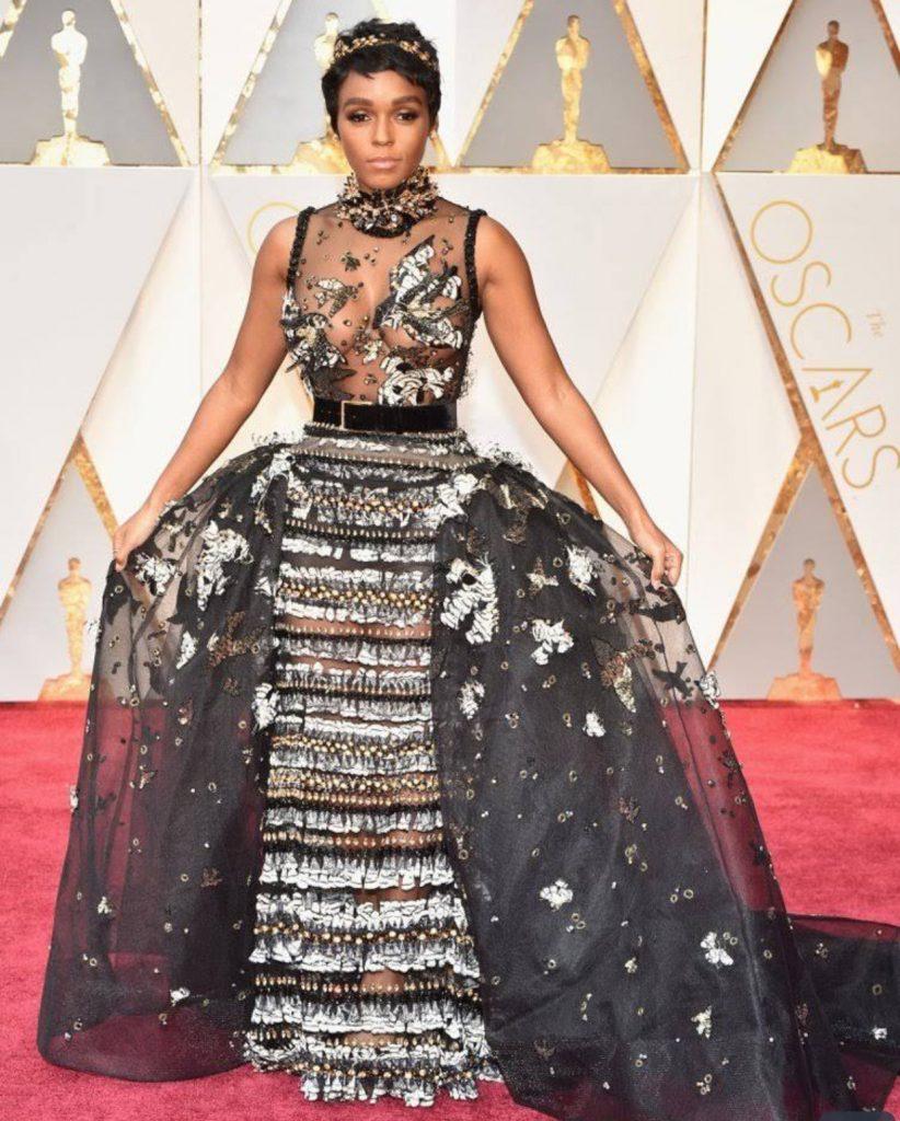 Janelle Monae Oscar 2017 Dress2