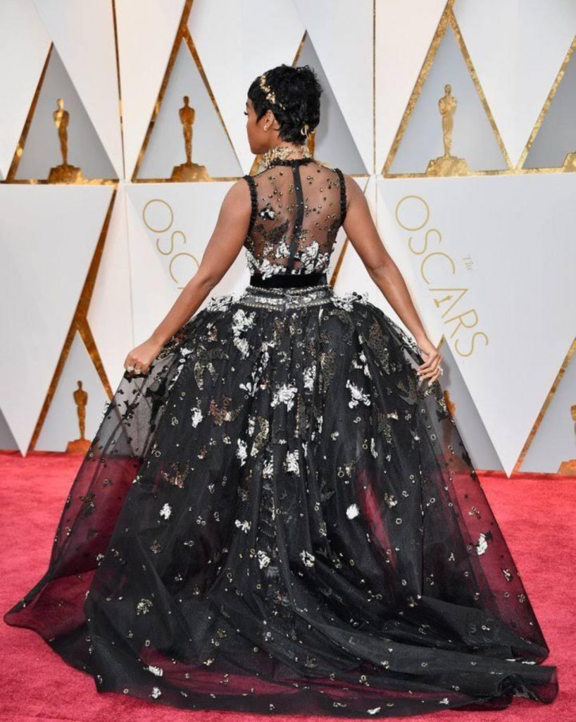 Janelle Monae Elie Saab Couture Dress