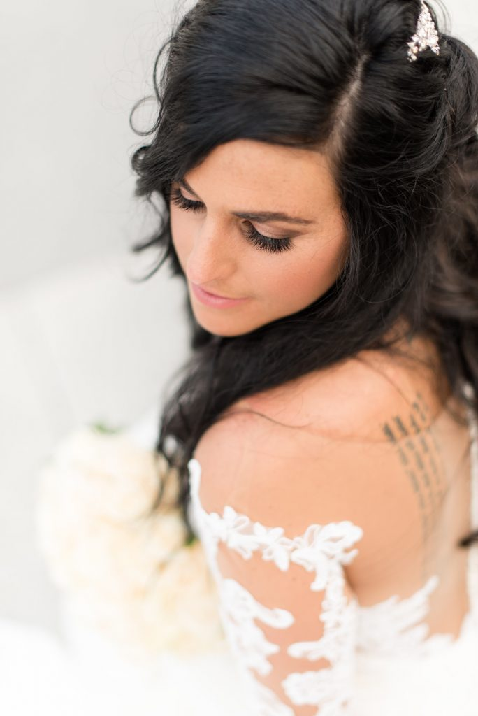 Bride - Jacquelyn, photographer is Megan Hoffer Photography