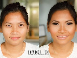 Before and After Makeup by Powder Inc in Portland, Oregon