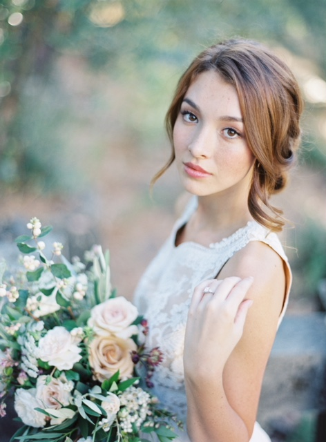 Bride Makeup by Julie Dy, San Francisco Makeup Artist